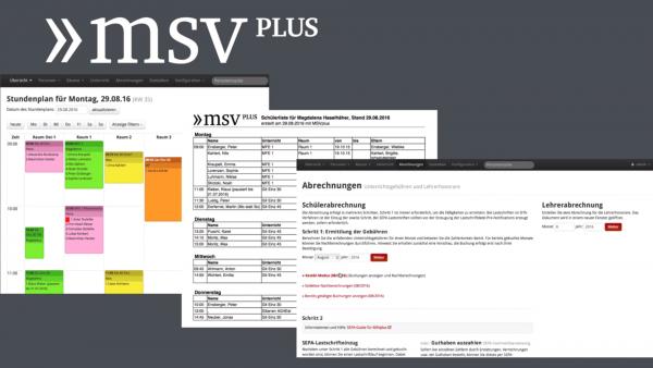 MSVplus Funktionsüberblick Link zum Video
