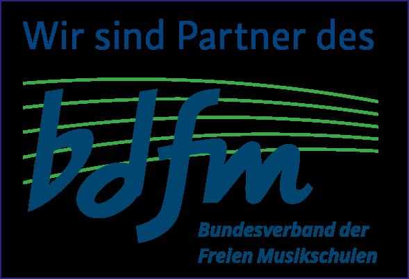 Wir sind Partner des bdfm (Bundesverband der Freien Musikschulen)